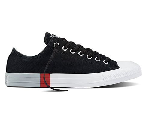 CONVERSE ALL STAR OX 159552C BLACK/WOLF GREY/WHITE