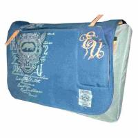 ecko unltd  Sticth Messenger bag Grey/blue