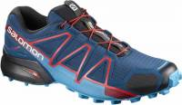 SALOMON SPEEDCROSS 4 POSEIDON/HAWAIIAN SURF/FIERY RED 400797