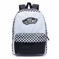 VANS REALM BACKPACK BLACK/WHITE CHECKERBOARD V00NZ056M