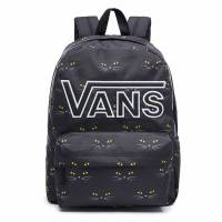 VANS REALM FLYING V BACKPACK BLACK CAT VA34GHP21