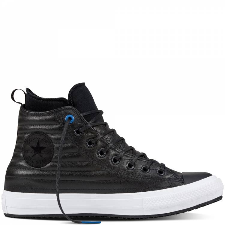 CONVERSE ALL STAR WATERPROOF BOOT HI 157492C BLACK/BLUE JAY/WHITE