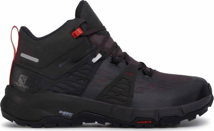 SALOMON ODYSSEY MID GORETEX 411445 BLACK/SHALE/RED