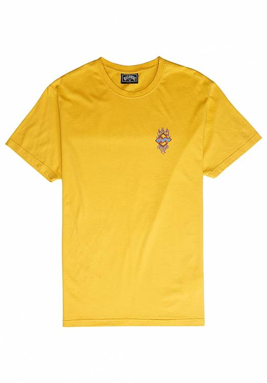 BILLABONG ARCHFIRE TEE 1971/GOLDEN N1SS61BIP9