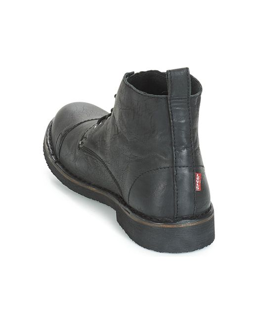 6263f069 LEVIS TRACK BOOTS 228755-825-59 REGULAR BLACK