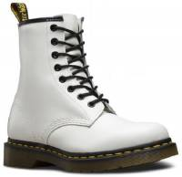 DR MARTENS 1460  11821100 LEATHER WHITE SMOOTH