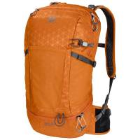 JACK WOLFSKIN KINGSTON 22 PACK ORANGE GRID 2007591-8084