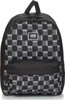 VANS REALM BACKPACK VN0A3UI7ZM01 WORD CHECK BLACK