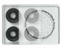 Element Skateboard Bearings 8mm Abec 3 BELGVABB Black (8 PC)