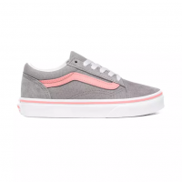 VANS OLD SKOOL (POP) FROST GRAY/PINK ICING VN0A4BUUWL9