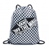 VANS BECHED BAG BLACK/WHITE CHECK VN000SUF56M