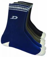 DICKIES NEW BOSTON  SOCKS  08 490006 (3 PACK) ASSORTED COLORS