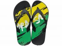 IPANEMA RIDER WORLD CUP 2018 AD BLACK/GREEN/YELLOW 780-18041-17-4