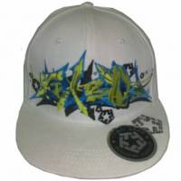 TRIBAL FLEXFIT CAP WHITE