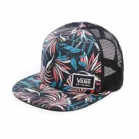 VANS BEACH BOUND TRUCKER HAT Black California Floral VA31SIP20