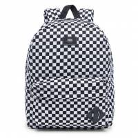 VANS OLD SKOOL BACKPACK BLACK/WHITE CHECK VONIHU0