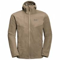 JACK WOLFSKIN LAKESIDE JACKET MEN SAND DUNE 1305991-5605003
